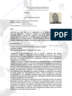 Curriculum Vitae Israel Vicenteño
