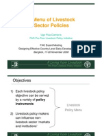 Livestock Policy Toolkit