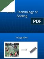 VLSI–TechnologyofScaling