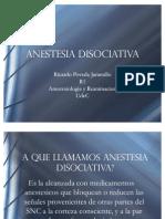 Anestesia disociativa
