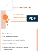 Approach to Hemolytic Anemia