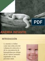 ANEMIAS INFANTILES