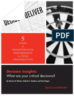 Bain 2010 Decision Insights 2