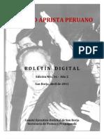 Boletin San Borja  016-2011