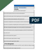 ESB Compliance Matrix
