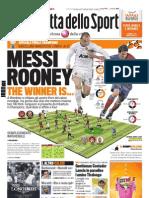 Gazzetta dello Sport - 28 Maggio 2011