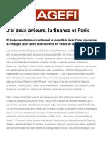 2 Amours Finance Paris