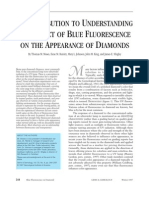 GIA - A Contribution to Understanding the Effect of Blue Fluorescence on the Appearance of Diamonds - 1997