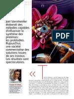 Nexus 67 Bio Physique Proteodie La Petite Musique Du Vivant Par Jocelin Morisson Mars 2010