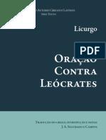 Licurgo Oracao Contra Leocrates