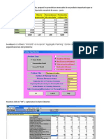 Aggregate Planning Example