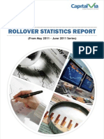 Rollover Statistics(From May 2011 Series to June 2011 Series)