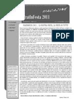 giornalino PRATINFESTA 2011