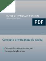 Burse Si Tranzactii Bursiere