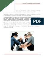 Motivacija Za Rad Kao Faktor Razvoja Organizacije