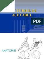 ACETABUL - Fracturi