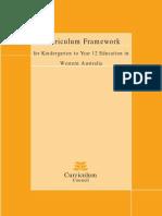 Curriculum Framework Over Arching Statement[1]