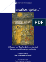 """""""Let All Creation Rejoice..."""" Orthodoxy and Creation"""