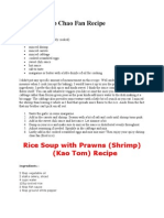 Spicy Shrimp Chao Fan Recipe