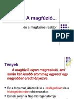 A magfúzió