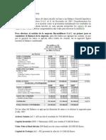 Análisis de ratios de una Empresa