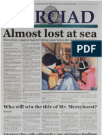 The Merciad, Feb. 9, 2005