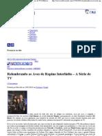 Relembrando as Aves de Rapina Interlúdio – A Série de TV _ Multiverso DC