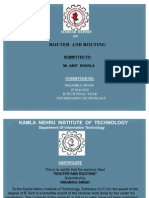 Seminar Router &Routing