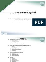 1. Estructura de Capital - Parte 2