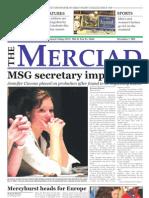 The Merciad, Dec. 7, 2005