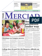 The Merciad, Dec. 14, 2005