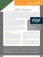 Elliot Health System_Hyper9_SolarWinds Case Study