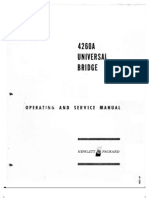 HP 4260A Universal Bridge