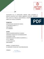 INFORME PERICIAL ACÚSTICO CHUECA