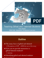 Gifted and Talented Presentation [Compatibility Mode]