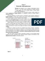 Curs -Materiale Semiconductoare (Materiale Electrotehnice)