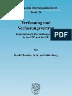 Karl-Theodor Frhr. Zu Gut Ten Berg - Verfassung Und Verfassungsvertrag