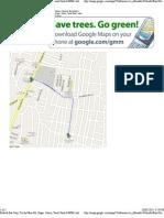Prabath Bus Stop, Trichy Main Rd, Gugai, Salem, Tamil Nadu 636006, India to Subam Kalyana Mandapam - Google Maps