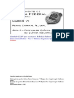 Simulado LXXV - PCF Área 6 - PF - CESPE