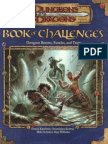 Book of Challenges - Dungeon Rooms, Puzzles, And Traps