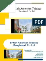 British American Tobacco Presentation