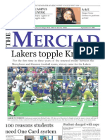 The Merciad, Sept. 27, 2006