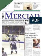 The Merciad, Oct. 25, 2006