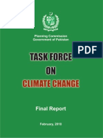 Final Report- Planning Com Iss Ions Task Force on Climate Change, Government of Pakistan