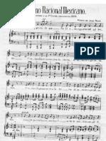 National Anthem of Mexico (Himno Nacional Mexicano) Voice, Piano - Voice, Piano