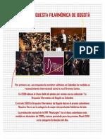 Nuestra Orquesta Filarmonica de Bogota