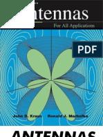 Antennas for All Applications by John D. Kraus & Ronald J. Marhefka 3rd Ed