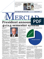 The Merciad, Jan. 18, 2007