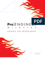 Pro ENGINEER Wildfire HandsOn Workshop