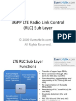 3GPP LTE RLC Layer